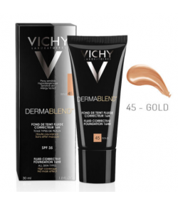 Vichy Dermablend SPF35 Foundation 30ml - 45 Gold