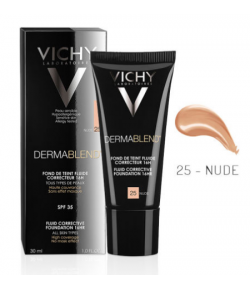 Vichy Dermablend SPF35 Foundation 30ml - 25 Nude
