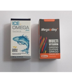 Ametis Ice Omega Plus 30 Kaps. MegaXday 30 tablet