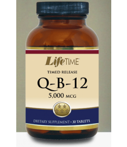 Life Time Q-B-12 5000 mcg Timed Release Tablets