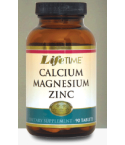 Life Time Q-Calcium Magnesium Zinc Tablets