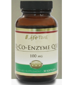 Life Time Q-Co-Enzyme Q10 100 mg Softgels