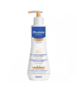 Mustela Cleansing Gel With Cold Cream Nutri-Protectiv 300 ml
