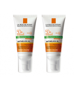La Roche Posay Anthelios Spf50 Tinted Dry Touch Gel Cream 2x50ml