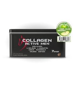 Voonka Collagen Active Men 7 Sase Yesil Elma