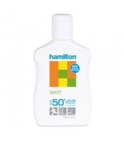 Hamilton Sport Lotion SPF50+ 125ml