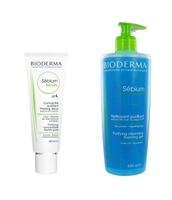 Bioderma Sebium Serum 40ml | Sebium Yıkama Jel 500 ML
