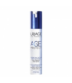 Uriage Age Protect Detox Night Cr Multi Action Pb 40 ml