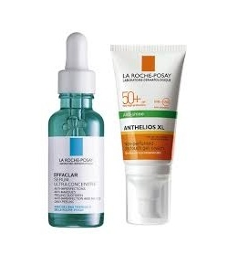 La Roche Posay Effaclar Serum 30 ml | Dry Touch Gel Cream 50ml