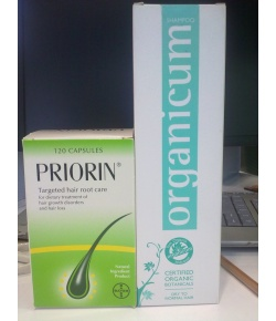 Priorin 120 Tablet + Organıcum 350 ML Şampuan - KURU ve NORMAL SAÇLAR
