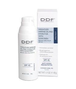 DDF Weightless Defense Oil-Free Hydrator Spf 45 48g.